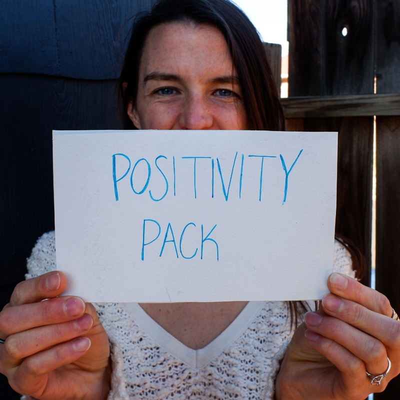 The Positivity Pack freebie